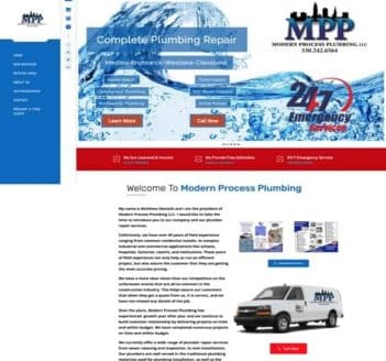 Modern Process Plumbing