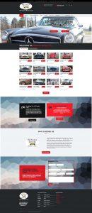 historical motors medina flutter works website design