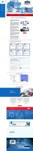 modern process plumbing flutterworks website design